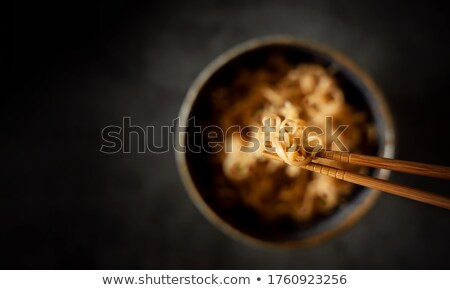 Wooden chopsticks Stock photo © magraphics