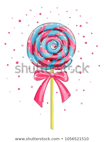 Lollipop candy on a stick Stock photo © montego