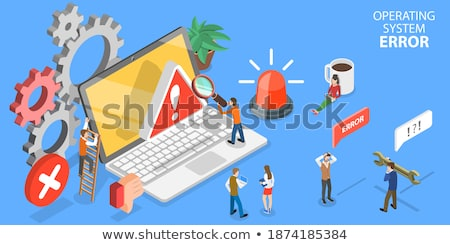 Critical computer errors, operating system crash conceptual background Stock photo © evgeny89
