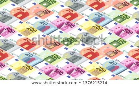 Brillante diferente euros billetes Foto stock © evgeny89