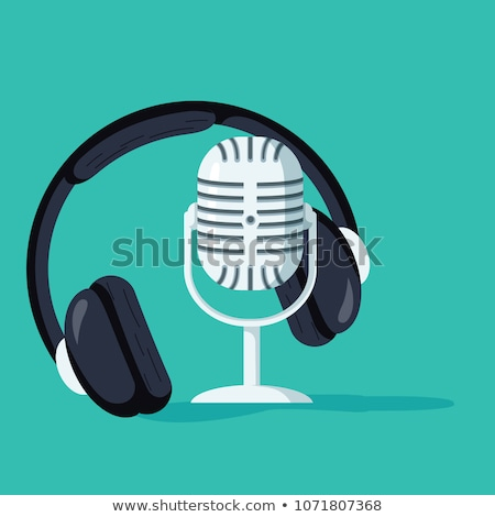 Voice Recording Studio Promotional Banner Vector Stock photo © pikepicture