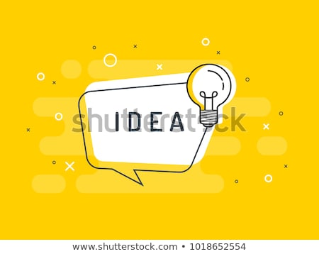 Speech Bubble - Innovate stock photo © kbuntu