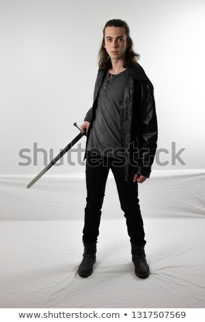 Man Wielding a Sword Stock photo © ArenaCreative