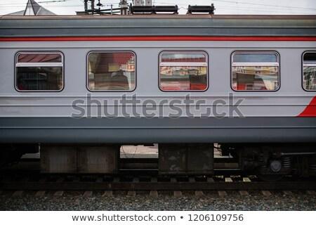 Zdjęcia stock: Metro Wagon In Blur