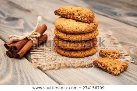 Biscuits And Cinnamon Foto d'archivio © Es75