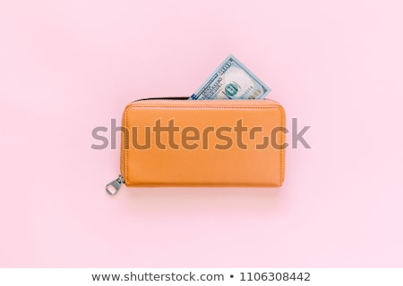 dollar banknotes in purse stock photo © simply