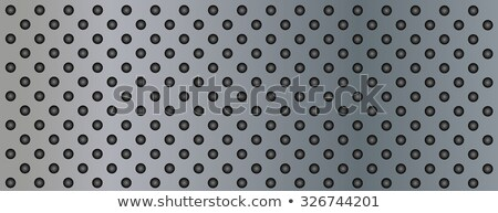 metal surface with holes stock photo © zeffss