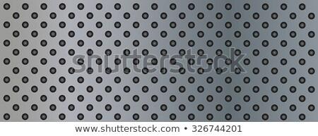 fém · felület · vágási · körvonal · textúra · háttér · ipari · minta - stock fotó © zeffss