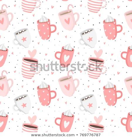 Сток-фото: сердце · чай · изображение · листьев · высушите