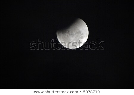 A warm full moon during a lunar eclipse Stock photo © Sportlibrary