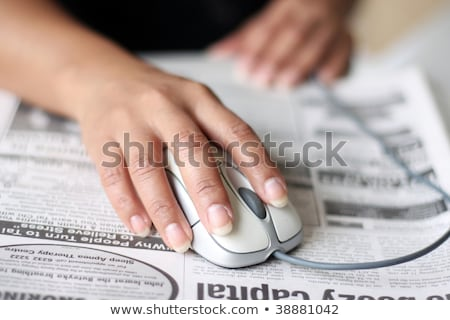 classified ad and computer mouse stock photo © devon