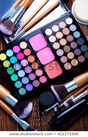 make up set for making up a womans face stock photo © stuartmiles