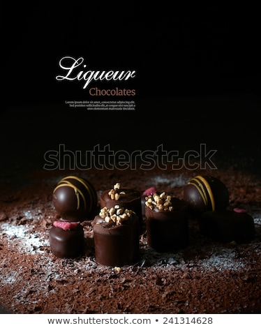 Chocolate seduction Stock photo © lithian