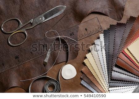 Kárpit bútor textúra szövetek antik fal Stock fotó © pzaxe