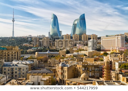 architecture in baku azerbaijan Stock photo © travelphotography