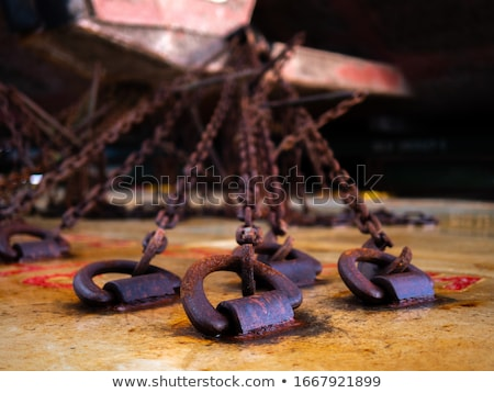cargo ship with hold details Stock photo © experimental