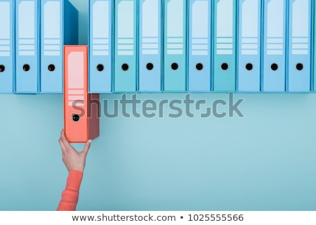 Archive folder Stock photo © vankad