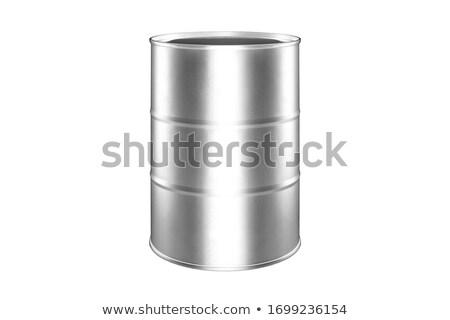 olaj · izolált · fehér · műanyag · konténer · tárgy - stock fotó © shutswis