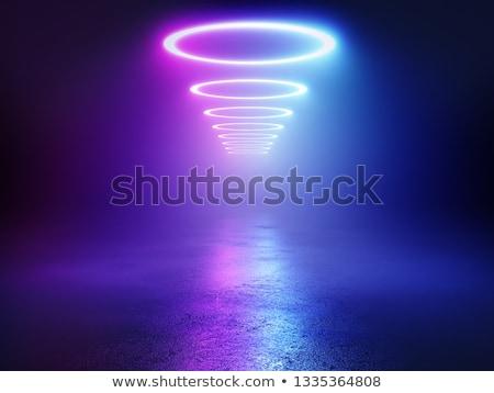 Elettriche neon uomini strumenti rotto plastica Foto d'archivio © photography33