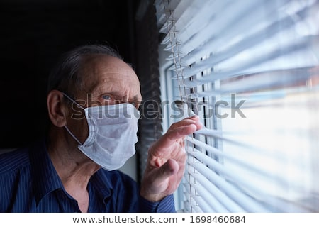 A worried elderly man Stock photo © photography33