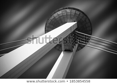 Bridge of the Slovak National Uprising  Stock photo © joyr