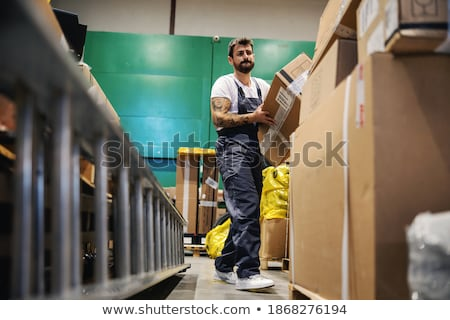 Hardworking blue collar worker Stock photo © photography33
