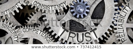 Reliability and Trust Business Symbol Stock photo © Lightsource