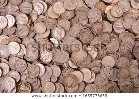 United States Silver Coins Stock photo © tab62