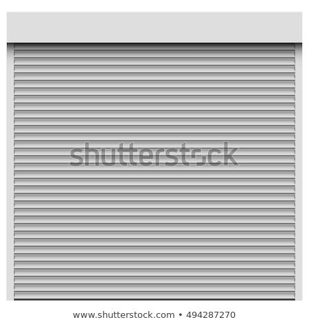 detail · metaal · achtergrond · muur - stockfoto © elxeneize