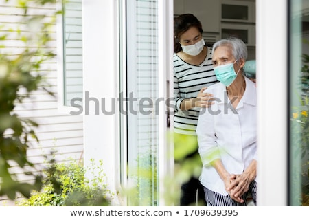 Senior Depression Stock photo © Lightsource