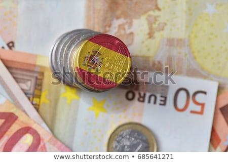 スペイン語 ユーロ 財布 危機 色 ストックフォト © jarp17