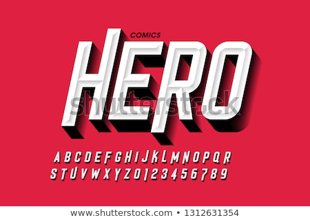 Bold Hero stock photo © 3mc