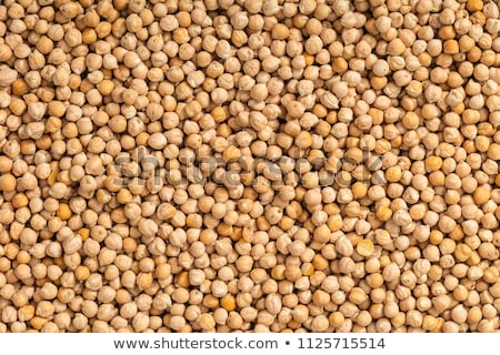 closeup chickpeas texture stock photo © zerbor