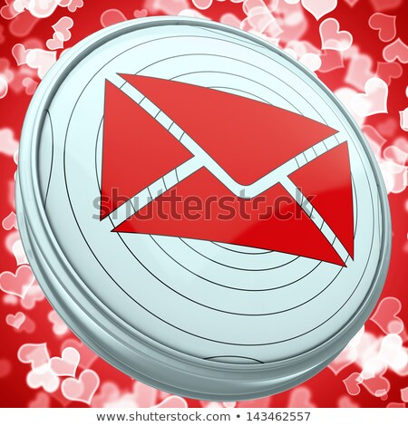 Email Envelope Shows Global Correspondence Post Online Stock photo © stuartmiles