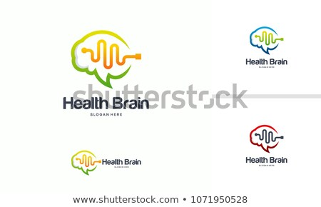 Stock photo: Brain vibes