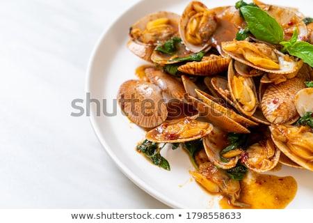 Roasting the Chillies Stock photo © ozgur