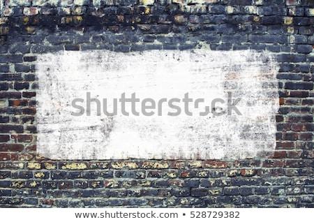 Fogkő téglafal felület márvány textúra építkezés Stock fotó © Photooiasson