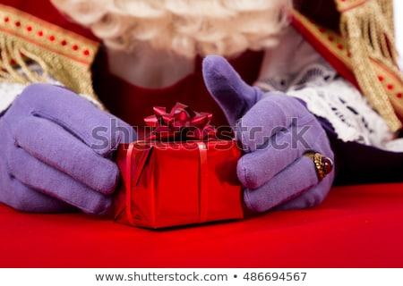 赤 黒 プレゼント オランダ パーティ 紙 ストックフォト © compuinfoto
