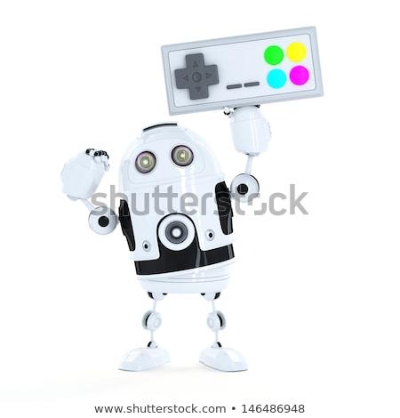 uomo · videogioco · controllo · computer · televisione - foto d'archivio © kirill_m