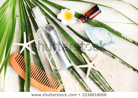 Spa Kit With Sea Salt stock photo © AndreyPopov