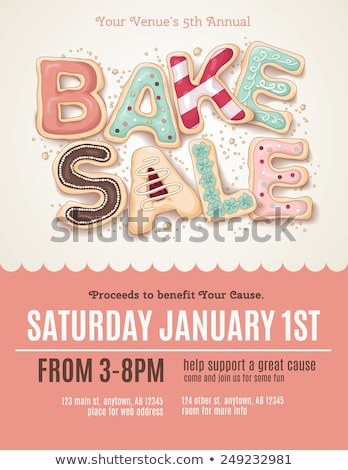 bakery flyer design stock photo © rioillustrator