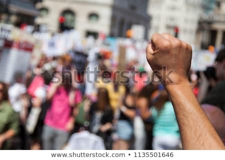 Político agresión simbólico marco ajedrez mundo Foto stock © grechka333
