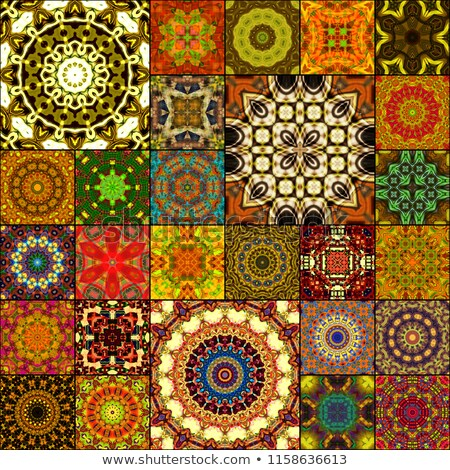 kaleidoscopic floral pattern Stock photo © beaubelle