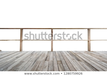 Old wooden balconies Stock photo © Hofmeester
