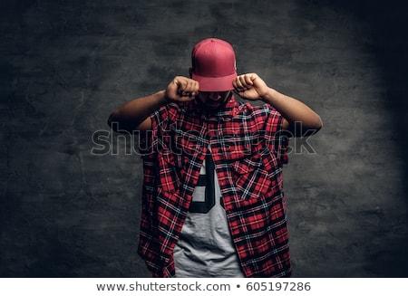 Hip hop man Stock photo © carbouval