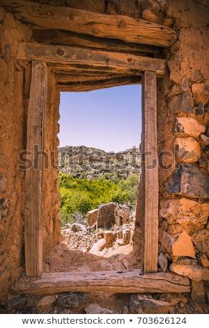 пейзаж Оман изображение луговой плато дороги Сток-фото © w20er