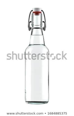 Bierflasche · leer · Glas · bar · Hintergrund · cool - stock foto © stevanovicigor