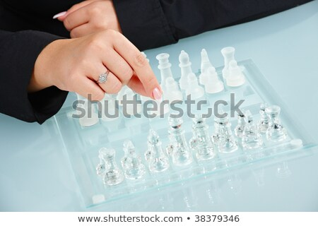 humand hands playing chess stock photo © nyul