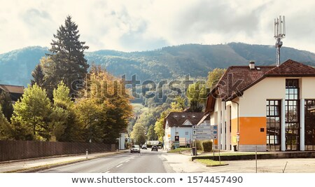 Austrian village Stock photo © MichaelVorobiev