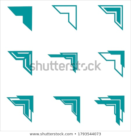 Set of vector corners vector illustration © Mr_Vector ...